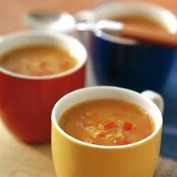 Lightly spiced tomato and red lentil soup: Lentil Soup Recipes, Low Gi, Lights Spices, Lentils Soups Recipes, Red Lentil Soup, Allrecipes Co Uk, Red Lentils Soups, Gi Recipes, Spices Tomatoes