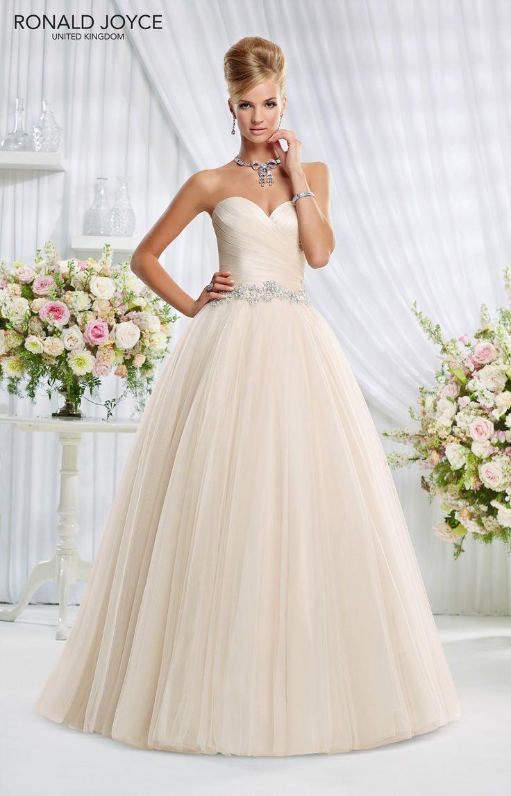 122 best gorgeous bridal gowns images on pinterest wedding wedding dress inspiration ronald joyce eliza ombrellifo Image collections