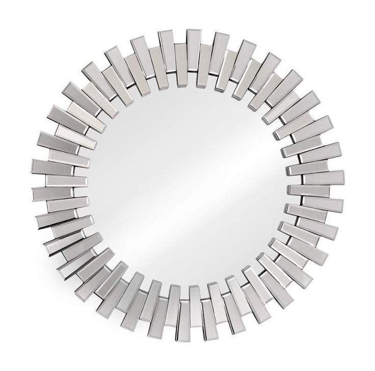 View the Zuo Modern Sundial Mirror Sundial Framed Sunburst Circular Mirror at Build.com.