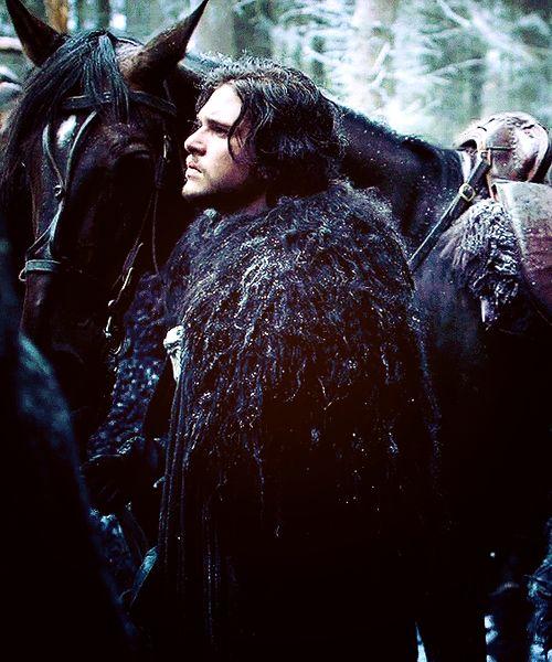 Kit Harrington as Jon Snow in Game of Thrones <3 <3 <3