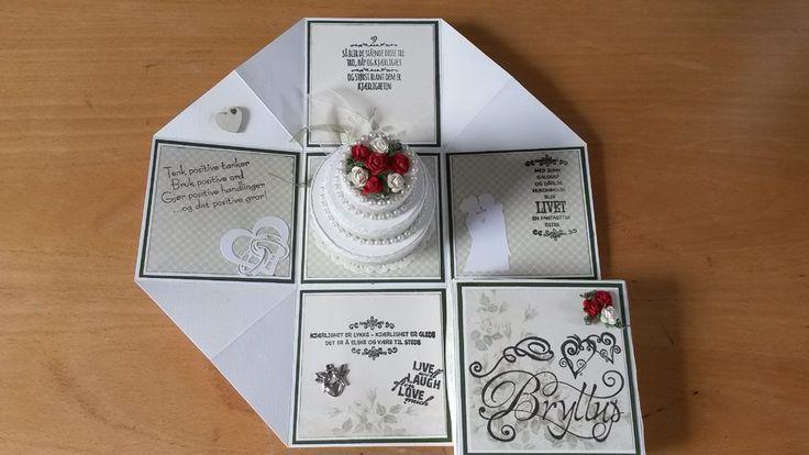 Bryllupsboks 2015 - eksplosjonsboks inni