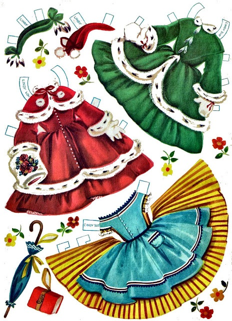 I never see paper dolls that I don't think of Connie Lynn.  She would spend hours playing with them!  Me?  Nope, there was always something outside to do. * 1500 free paper dolls Arielle Gabriel's The International Paper Doll Society #QuanYin5 Twitter QuanYin5 Linked In #ArtrA *