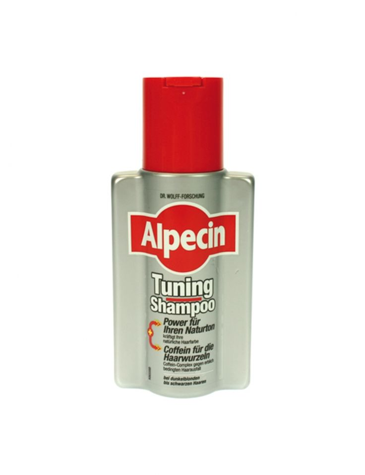http://www.nded.com/alpecin-en/ Alpecin shampoo tuning 200ml A strengthening of the natural hair color and the overlap of first gray hair are the strengths of the Alpecin shampoo tuning 200 ml. Intense pigments help every hair wash with the hair, long to get his coloring. Color effect - color tuning for the hair