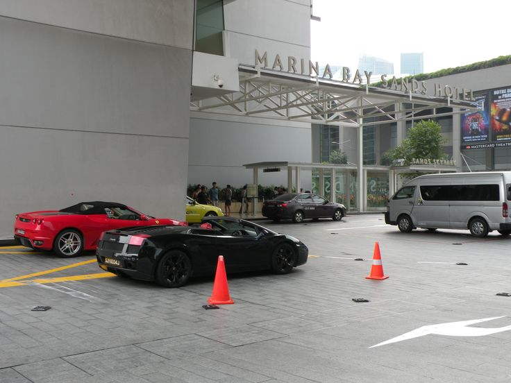 #Ferrari #Lamborghini #Money #Singapore