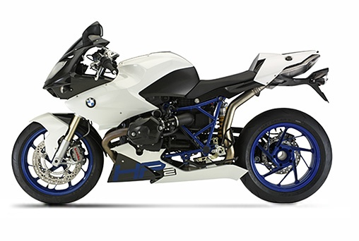 """2011 BMW HP2 Sport Motorcycle    This bike can be used as the phrase goes """"beauty is only skin deep."""" Mostly referring to the fact you can see beneath the bike's color and skin. The feature here being what's under the skin?"""