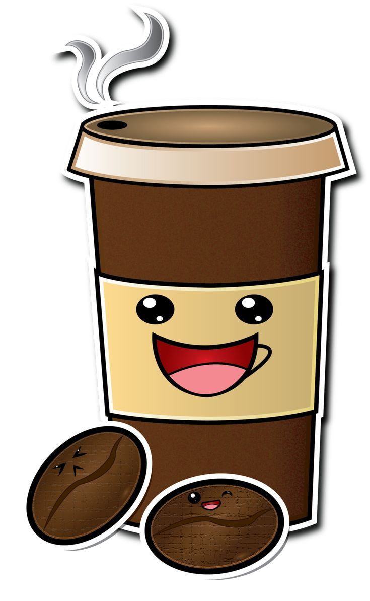 Cute Cartoon Coffee Cup Drawing | Coffee Cartoons ...