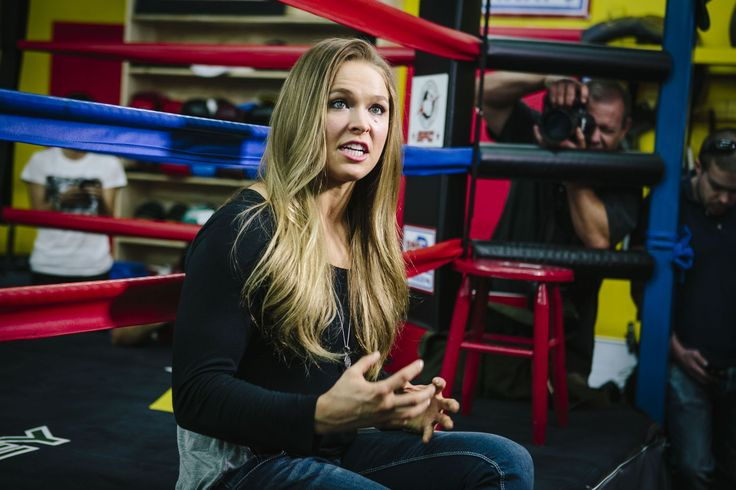 Ronda Rouse is as confident as it gets. Go on witcha bad self, girl.