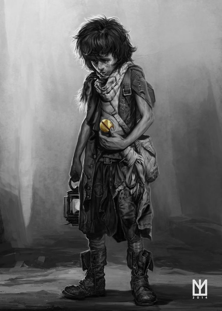 """This art was inspired by the book """"The Wise Man's Fear"""" by Patrick Rothfuss. Where the main character, Kvothe, tell the story of the boy who was born with a gold screw in his belly button. An incredible little tale of an amazing book.  By Marco Teixeira"""