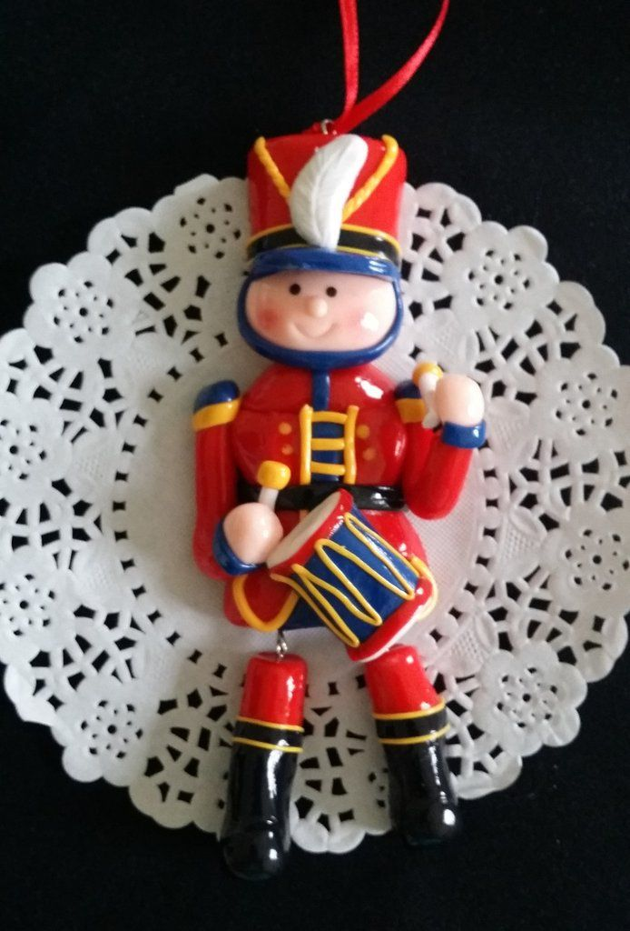 Christmas Ornaments Drum Boy Ornamemt Nutcracker Christmas