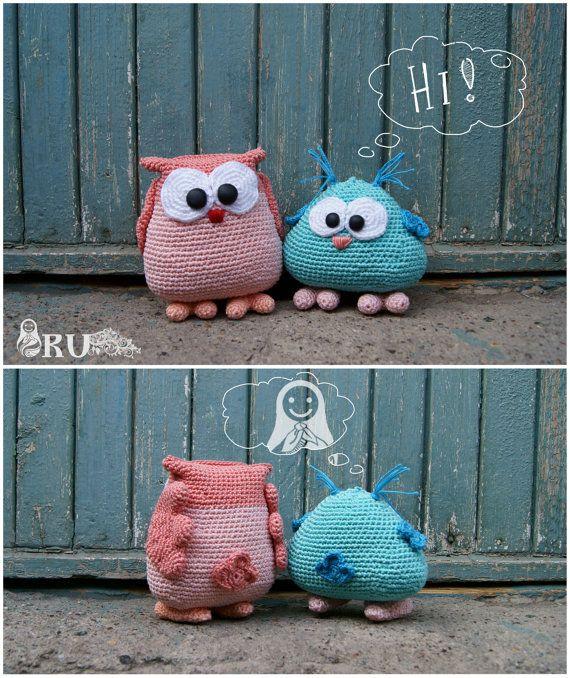 Amigurumi Crochet buhos