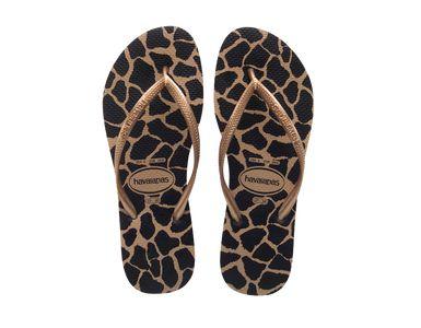 frau flip flops slim animals havaianas online store flip flops