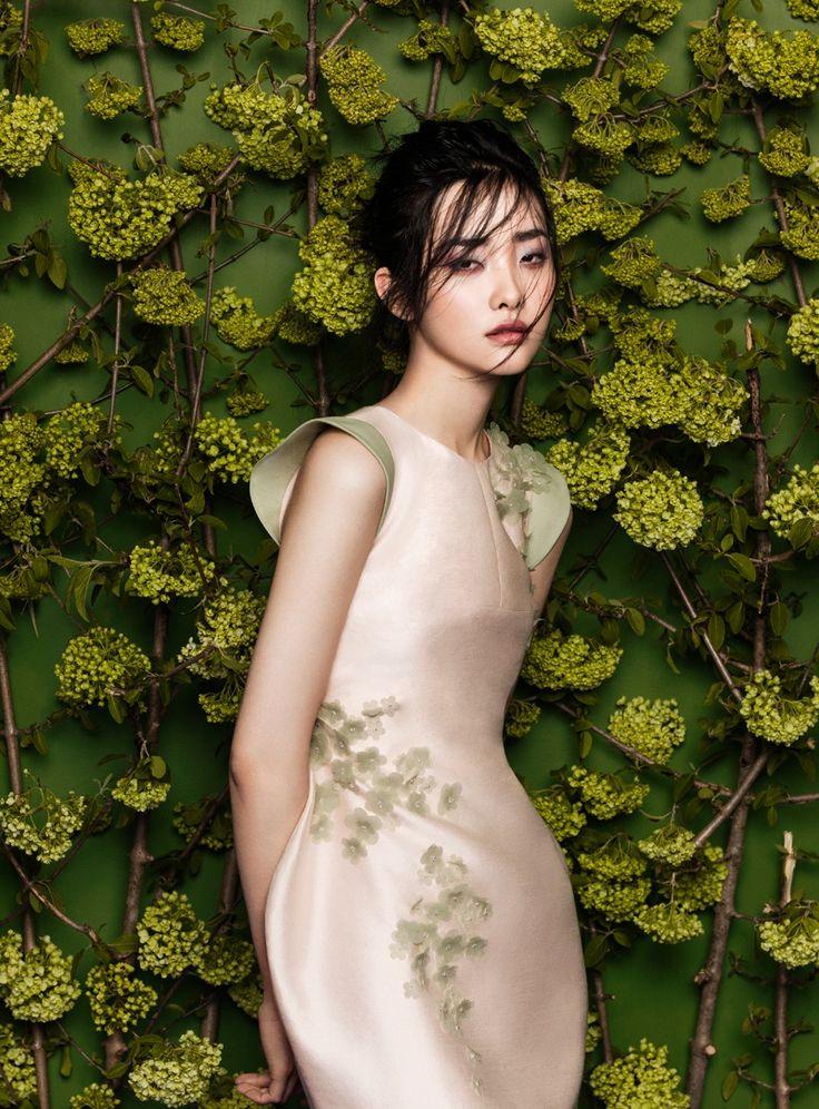 flowers fashion zhang jingna phuong my1 FGR Exclusive | Kwak Ji Young by Zhang Jingna in Flowers Bloom