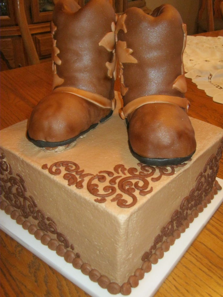 17 Best Images About Country Western Cakes On Pinterest