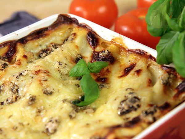 Lasagne med tre sorters ost | Recept.nu