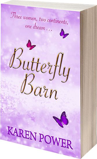 Butterfly Barn is the debut novel by Karen Power, containing the themes of love, family, separation, pregnancy loss and dyspraxia, there's plenty to enjoy and absorb within its pages. http://www.karenpowerauthor.com/