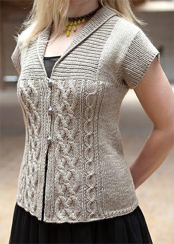Ravelry: Elisbeth Cardi pattern by Bonne Marie Burns