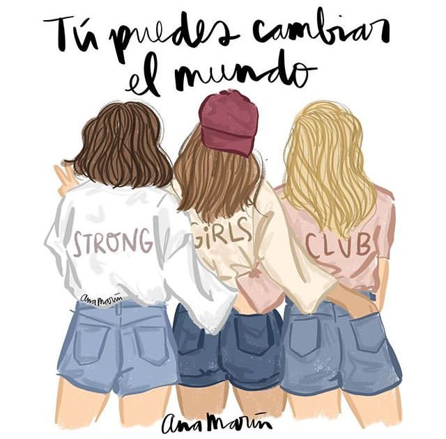Pin by Mia on Ana Marin | Bff drawings, Best friend drawings