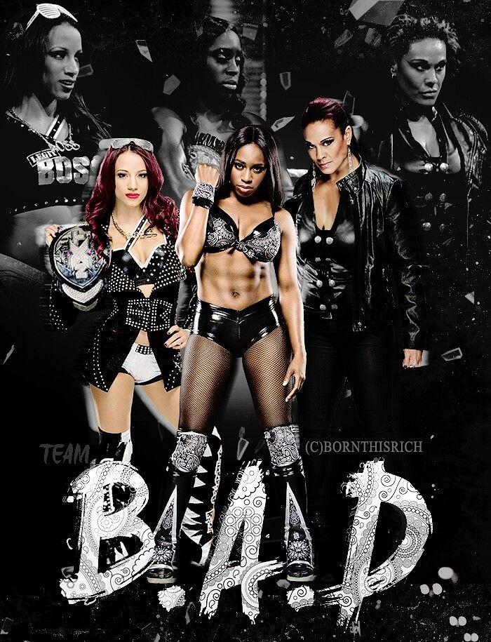 Sasha Banks and Naomi & Tamina Snuka......Beautiful and Dangerous (WWE).