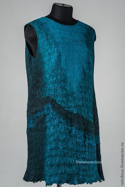 """платье """"Ретро"""" - тёмно-бирюзовый,абстрактный,ретро стиль,ретро платье"""