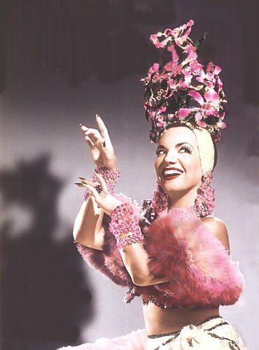 Carmen Miranda so beautiful in pink