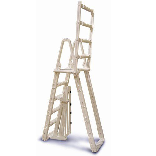 Above Ground Pool A-Frame Safety Ladder - In The Swim http://www.intheswim.com/p/evolution-a-g-a-frame-safety-ladder