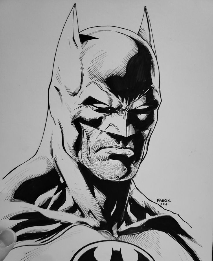 Картинки бэтмен нарисованный