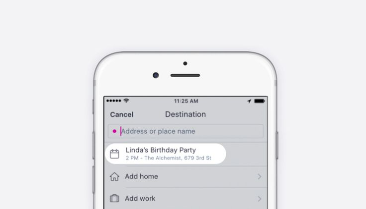 Lyft now grabs destinations from your calendar custom shortcuts to follow soon Ride hailing app Lyft can now poll your calendar for suggested destinations right within the app itself thanks to a new integration option being rolled out starting today. And coming soon its going to let you specify your own shortcut destination options in addition to Home and Work letting you easily enter frequently visited spots so you dont have to manually type them in every time.  The calendar integration…