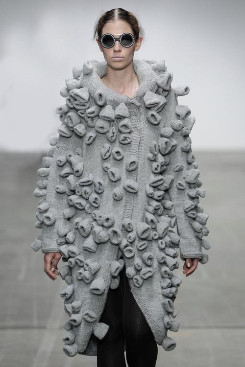 Clearly inspired by the sea, right? Dud-Zin-Ska F/W 2014