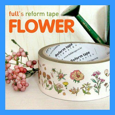 40mm Deco Tape Reform Tape OPP Tape Flower | eBay