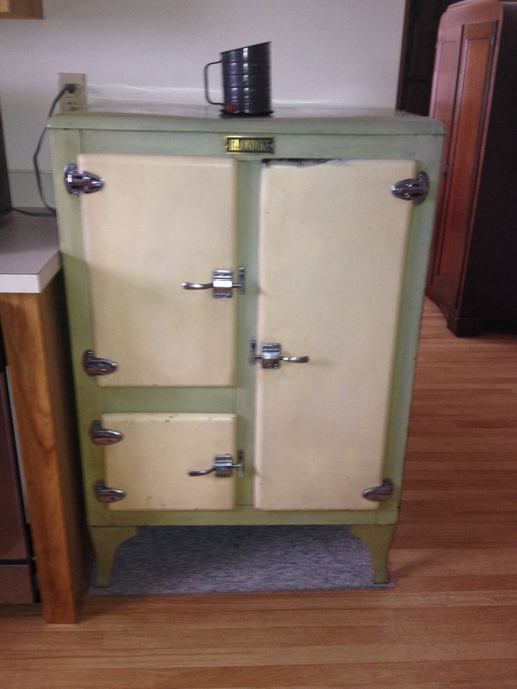 Old Ice Box Quot Refrigerator Quot Up Cycled Recycle