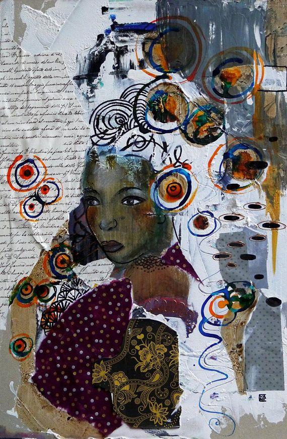 Préférence 98 best Cyane art contemporain peinture créations Nadine Maugie  NC53