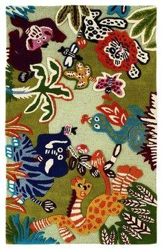 Ideal Kids Kinderloom ux u Rectangle Multi Color Area Rug contemporary kids rugs