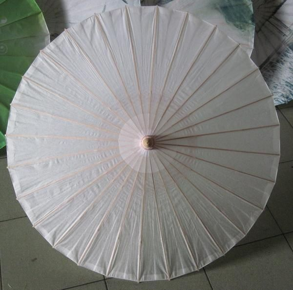 [Visit to Buy] Diamter 27.5 Inches Chinese Craft Bamboo Oiled Paper Umbrella Wedding Supplies DIY Painting Paper Parasol #Advertisement