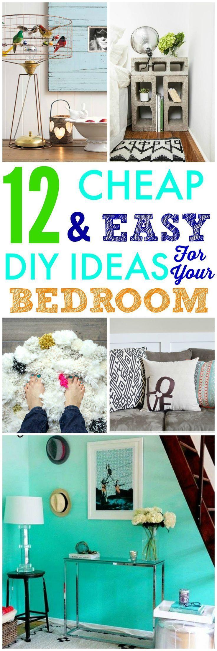 Best 25 cheap bedroom makeover ideas on pinterest cheap for Cheap bedroom makeover ideas