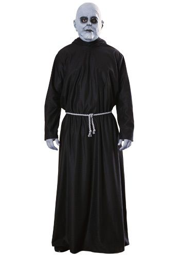 Our adult Uncle Fester costume will transform you into the famous character from the Addams Family movies and television series. A funny Halloween costume.