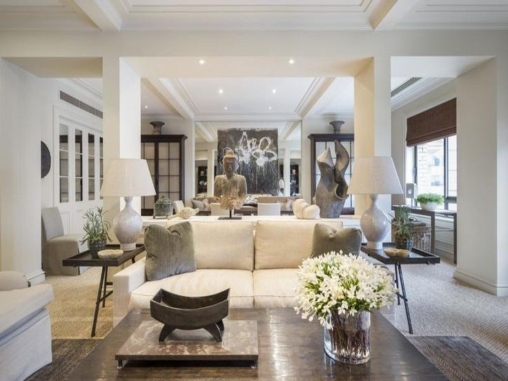 renowned interior designer thomas hamel has listed his own luxuriously appointed apartment in the citys landmark broughton house
