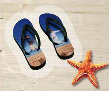Voor de echte vakantieganger hebben wij het perfecte vaderdag cadeau, de slippers met eigen foto!
