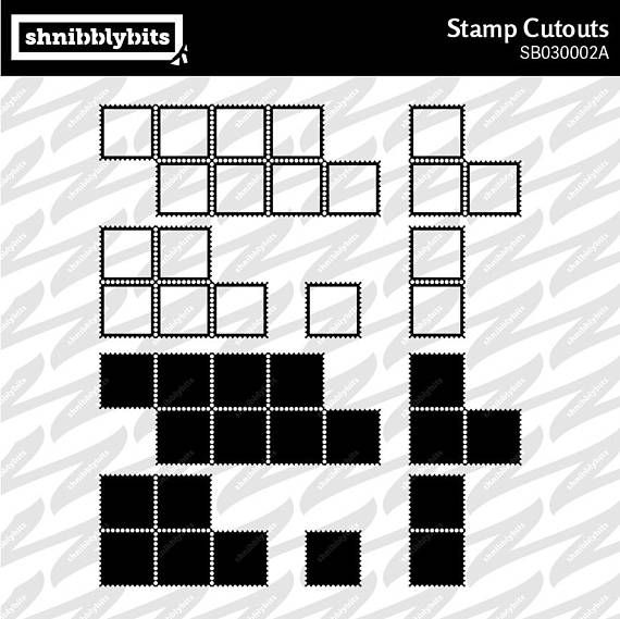 Stamp Cutouts and Stencils