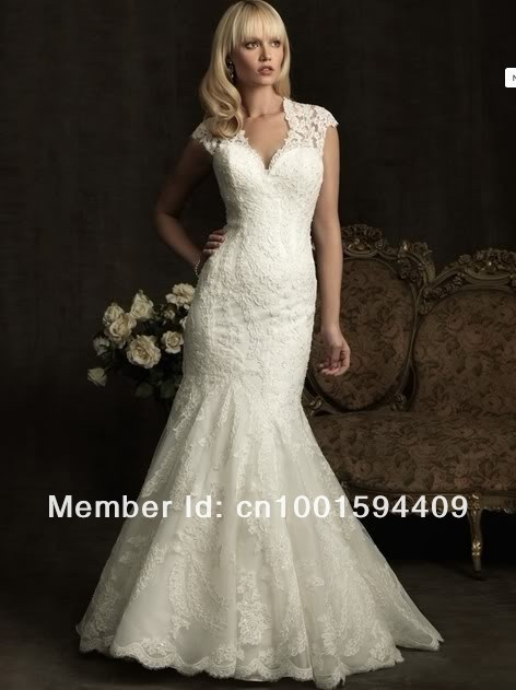 Wedding Dresses Trumpet Style Lace 52