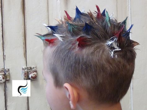 how to style s hair how to do spiked and mohawk hairstyle for boys hair 1109