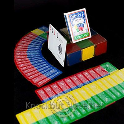 Tetra #bicycle deck - 4 way fan magic makers tricks #magician #party trick cards,  View more on the LINK: http://www.zeppy.io/product/gb/2/272014680461/