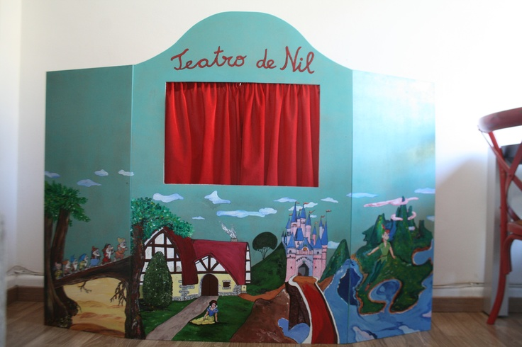 327 best images about decoraci n mamasmolonas on pinterest - Teatro marionetas ikea ...
