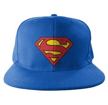 Superman Shield Snapback Cap