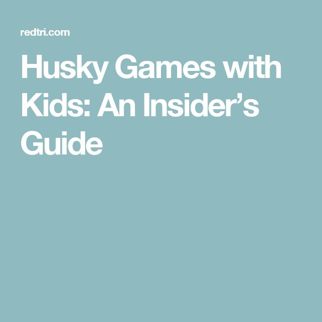 Husky Games with Kids: An Insider's Guide