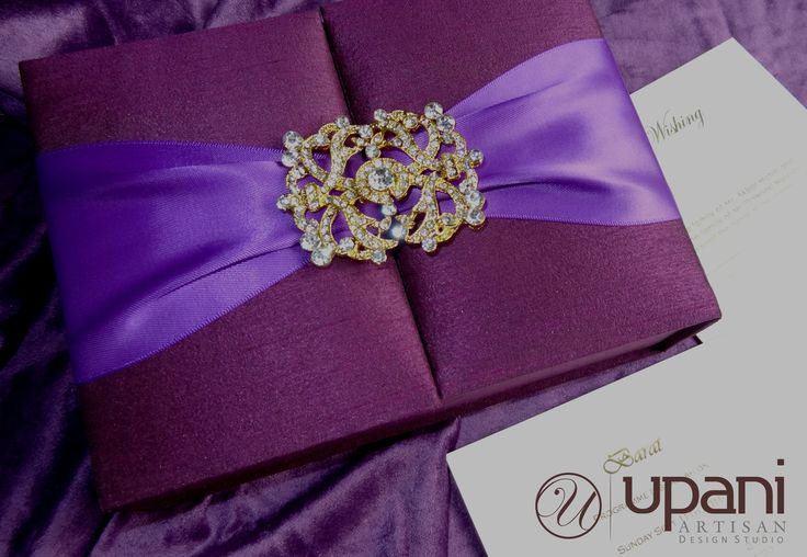 Purple Silk Box