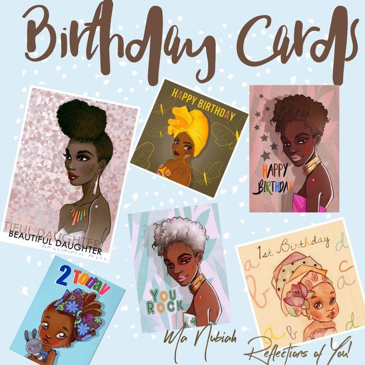 171 best Ma Nubiah Greeting Cards facebookmanubiah – Ethnic Birthday Cards