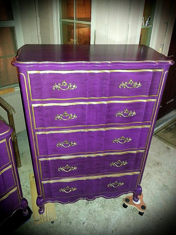 French Provincial Dresser Chest Changing by CottonwoodRanch