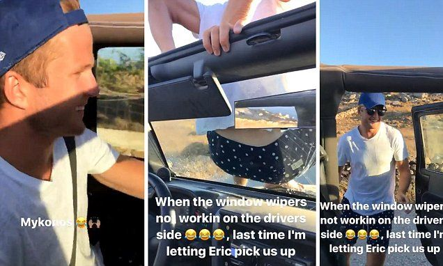 Alli and Dier continue bromance with Mykonos road trip