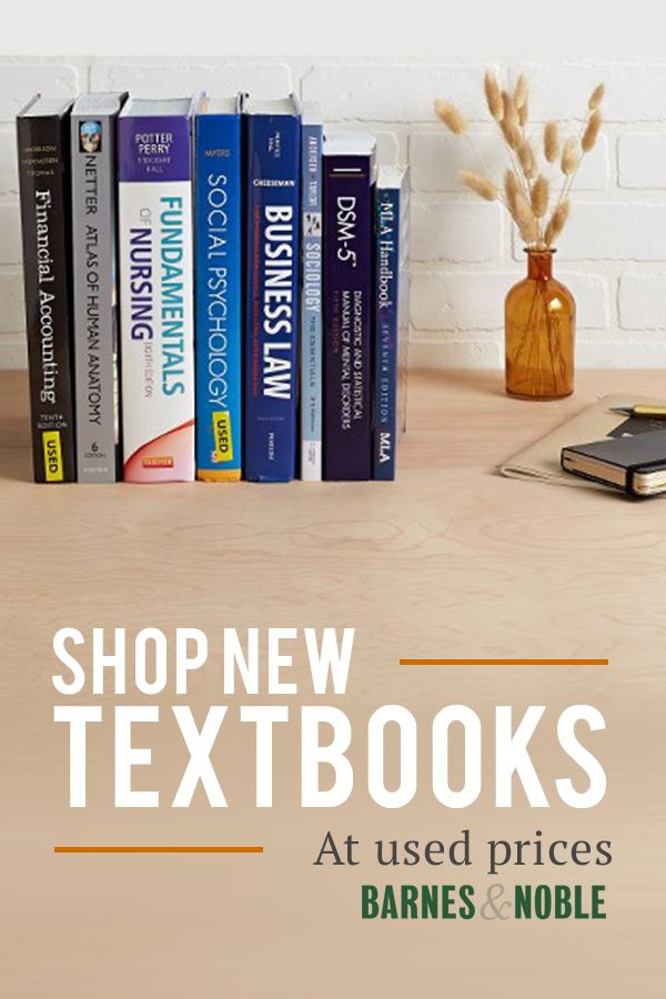 Save Up To 90% on New & Used Textbooks Plus Free Shipping! Check Out Our Huge Selection of Textbooks at the Lowest Prices