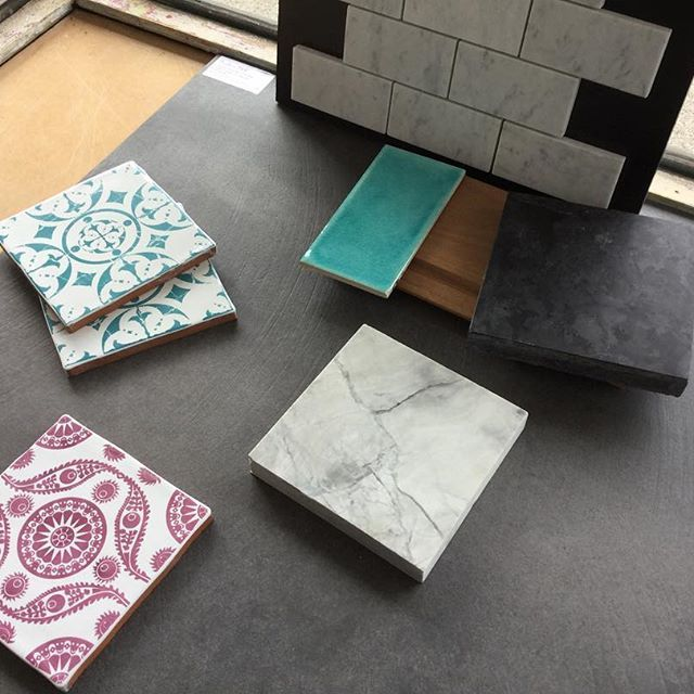 Have loved every minute of working with this client  #colour  #tiles #interiordesign #lovetiles
